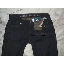 Pantalon America Eagle Slim T-30x32 Nuevo Original