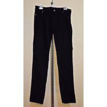 Pantalon De Pana Be Boop Para Dama Talla 11-34 Skinny Negro