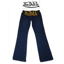 Jeans Von Dutch Dama Talla 5 Chico S Mezclilla Pantalones Ve