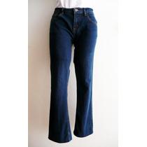 Pantalón Mezclilla Azul Strech Dama Weekend Talla 7 Amplio