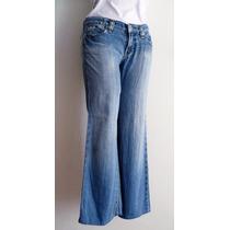 Pantalón Mezclilla Azul Dama 100% Algodón That´s It Talla 9