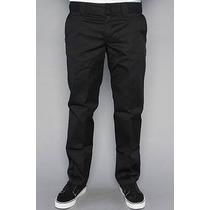 Pantalon Dickies Slim Fit (talla 30x34) Straight, No Skinny