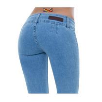 ~ Jeans Oggi Furor Scandia Para Dama Levantapompas Mezclilla