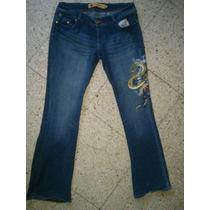 Pantalón Dama Jeans Apple Bottoms 11/12 Volcom Etnies Lrg Dc