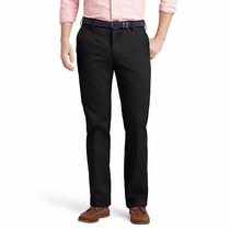 Pantalon Casual Izod Negro Talla Extras 50x30 45% Descuento