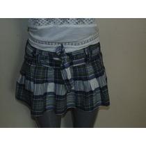 Falda Abercrombie & Fitch T-28 Orig, Shorts,blusas,vestidos