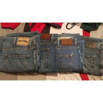 4 Pantalones Mezclilla Levi