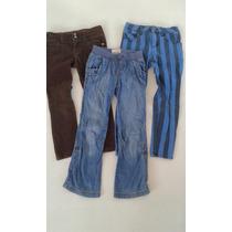 3 Pantalones Para Niña Old Navy, Cherokee, D-signed Talla 4