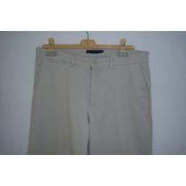 Bonito Pantalón Polo Ralph Lauren Color Hueso T-12