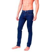 Pantalon Hombre Caballero Mezclilla Slim Jogger Grypho Car11