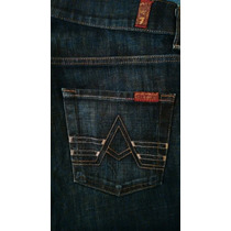 Seven For All Mankind Jeans Para Caballero A Pocket 30x32.