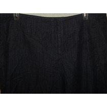 Pantalón Calvin Klein De Mezclilla Dama Nuevo Talla 14