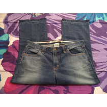Pantalon Capri Jeans Gap Mezclilla Dama 12 Amer 38 Mex