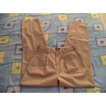 Pantalon Camel De Vestir Dockers Para Caballero 32x34