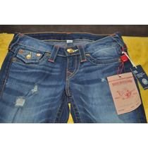 Jeans True Religion Modelo Vintage Skinny Wflps Old Multi