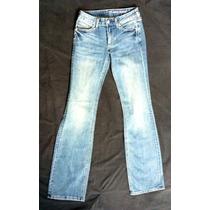 Pantalon Mezclilla Azul Claro Marca New York & Company S
