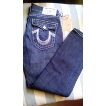 Pantalon - Jeans True Religion Talla 32 Straight Slim