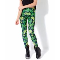 Marihuana Mota Cannabis Leggings Ganja Punk Marley