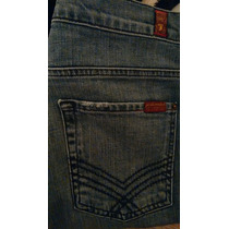 Seven For All Mankind Jeans Para Caballero Slim 31x32. True.