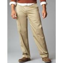 Pantalon Dockers D3 Expandible Tallas Extras 44x29 Khaki