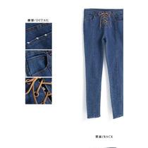 Suku 60365 Jeans Mezclilla Entubados Moda Asia $559
