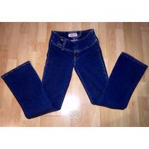 Lote De 2 Pantalones Mezclilla Mujer Tt Blues Y Locura Jeans