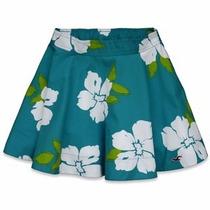 Faldas Hollister Co. Seascape T-m Floral, Nueva Shorts,vesti