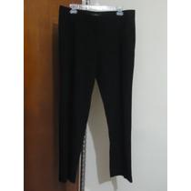 Pantalon D Vestir Negro Daysi Fuentes P/dama 12 Amer 38 Mex