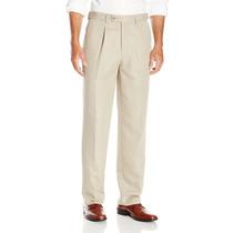 Pantalón Cubavera De Vestir 34x30 Color Aluminium