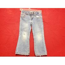 Jeans Pantalón Levis Casual Ajusta En Cintura Niña Talla 5