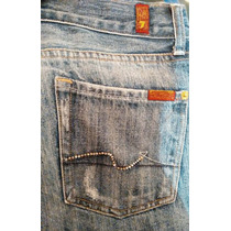 Seven For All Mankind Flare Jeans Para Dama T. 28 S.true R.