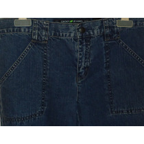 Pantalon De Mezclilla Donna Karan Nuevos Dama Talla Xs (2)