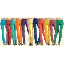 Lote Pantalones Skinny Colores (fabricantes)envíos Gratis