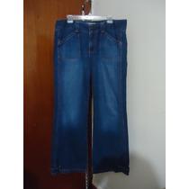 Pantalon D Mezclilla Old Navy P/dama Talla 12-38 Azul Nuevo