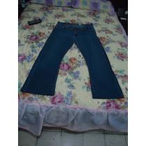 Pantalon D Mezclilla Levi´s Para Dama 14 Amer 40 Mex Azul