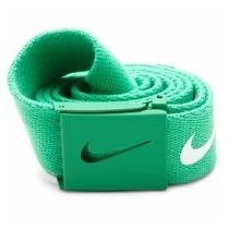 Cinto Verde Dama/caballero Ajustable Nike