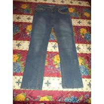 Pantalon De Mezclilla Strech Oxy Jeans Talla 5 Dama