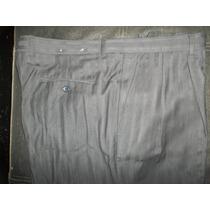 Pantalón De Vestir Casual Negro Marca Bertucci Talla 40x32
