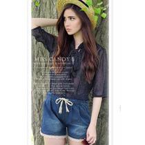 Suku 60612 Sexys Short Cintura Elástica Moda Asia $469