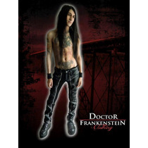 Pantalon Vinipiel Cierre Doctor Frankenstein Gotico Punk