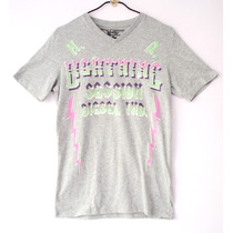 Playera Diesel Lighthing Importada Exclusiva Unica En Ml Hm4