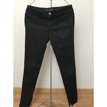 Jeans Studio F Negros Talla 6 Stretch Skinny