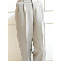 Pantalon De Vestir Para Caballero Talla 30 Color Beige