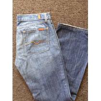 Seven For All Makind Jeans Pantalon Para Dama Usado