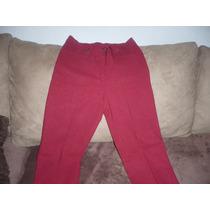 Lindo Pantalon Santory Strech T-32 Rojo Quemado Ajustable