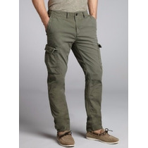 Padrisimo Pantalon Gap Cargo Verde Talla 34x34 100% Original