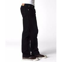 Pantalon Levis Negro Original 34x30 501-0660