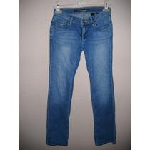 Pantalon Para Dama Talla 28 Color Azul De Mezclilla Nuevo