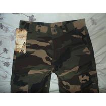 Pantalon Camuflajeado Marca Qian Yi Ge T-32 Nuevo Original