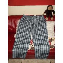 Pijama 2xl Old Navy Azul A Cuadros
